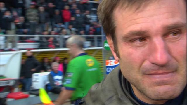 グルノーブルのコーチファブリス・ランドロー監督はトゥーロンの試合後泣いた!