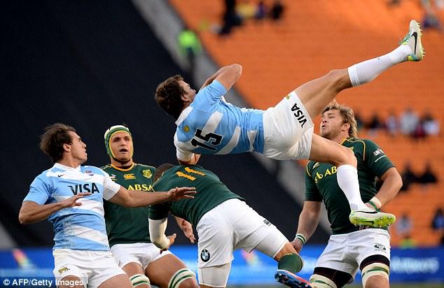 南アフリカアルゼンチン2015