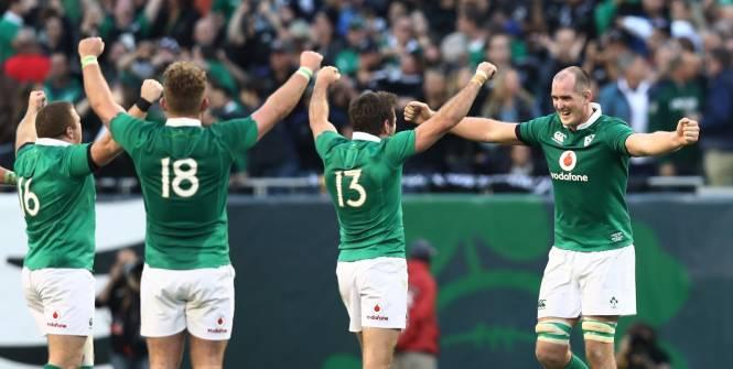 アイルランド ニュージーランド テストマッチ2016年